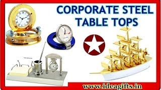 Wooden And Steel Table Tops - Luxury Corporate Gifts Items Manufacturers & Exporters In Delhi India