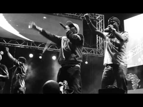 Zola Performing Don't Cry at Major League Gardens