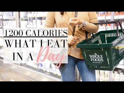 1200 CALORIE DIET What I Eat in a Day 1200 Calories | LuxMommy