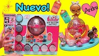 Andre jugando con muñecas L.O.L. decoradas con purpurina!!! y juguetes para niñas y niños