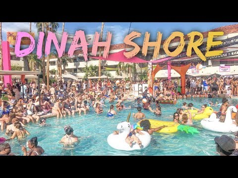 THE MOST EPIC DINAH SHORE 2017 🌴😎🌈