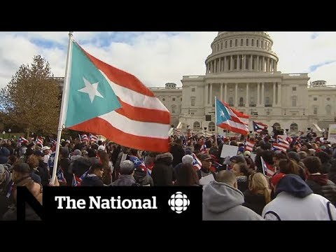 Puerto Rico Unity March calls out Trump, U.S. government