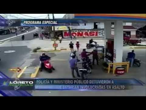 Impresionante Asalto y Persecución en Iquitos