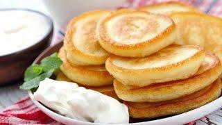 Оладьи на дрожжах/pancakes on yeast