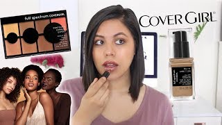NEW COVERGIRL MAKEUP 2019   FIRST IMPRESSIONS