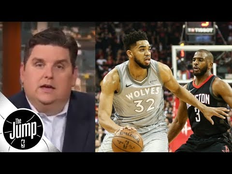 Windhorst: 'Nothing Happening Right Now' Between Karl-Anthony Towns And Wolves | The Jump | ESPN