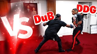 My Brother Almost Knocked Me !! DuB vs DDG Boxing Match . . .