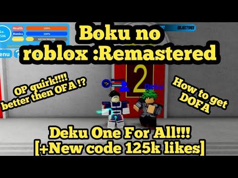 All Codes For Boku No Roblox | StrucidCodes.com