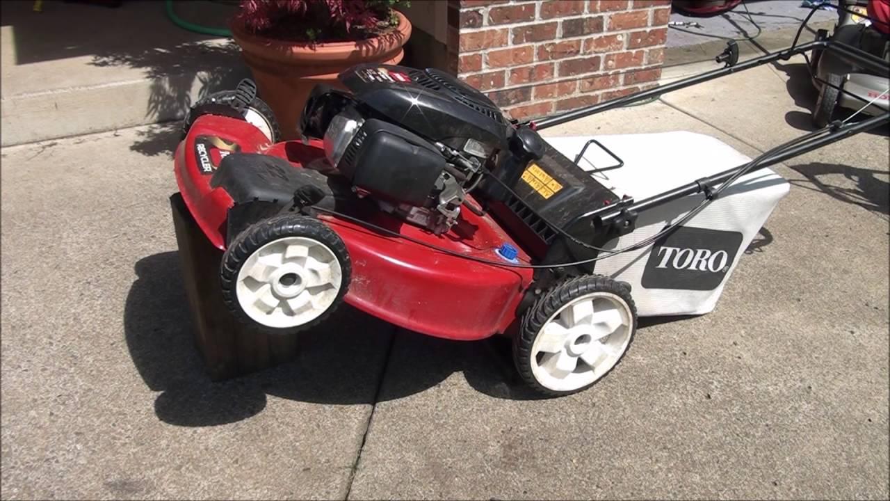 New Toro Lawnmower Won T Drive Fix Front Drive Wheels