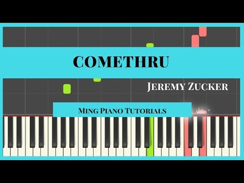 Comethru - Jeremy Zucker Piano Cover Tutorial (Midi Sheets) Ming Piano Tutorial