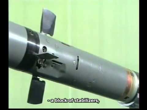 IGLA - man-portable surface-to-air missile (Eng subs)