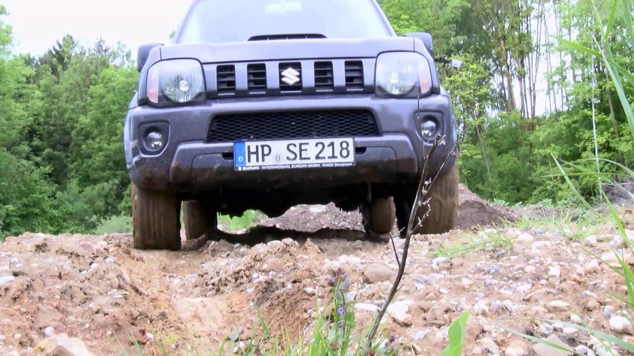 Offroad-Spaß im Suzuki Jimny - YouTube