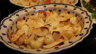 Картофель запеченная в духовке! - с Хрустящей корочкой!