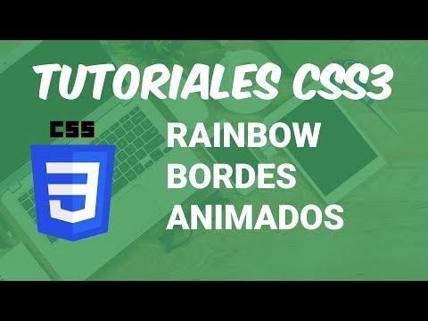 Tutorial CSS: Borde Animado (Rainbow Border Animated) [Fácil & rápido] 😎 thumbnail