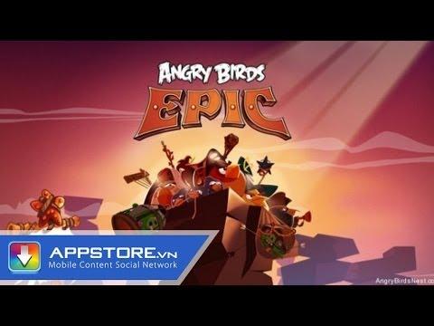 [iOS Game] Angry Birds Epic - Hiệp sĩ Chim - AppStoreVn