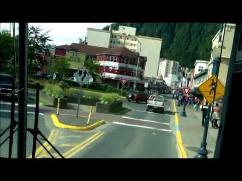Juneau,Alaska (Bus Ride)