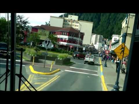 Juneau,Alaska (Bus Ride)