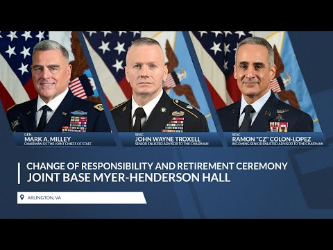 SEAC Change Of Responsibility And Retirement Ceremony