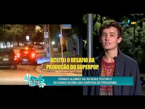 Super Pop 09/06/2014 - Gringo Testa Conhecimento De Idiomas Das Garotas De Programa