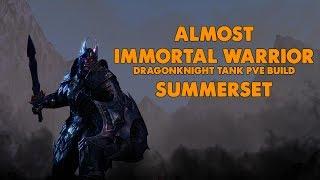 ESO - Almost Immortal Warrior - PVE Dragonknight Tank Build - (Summerset)