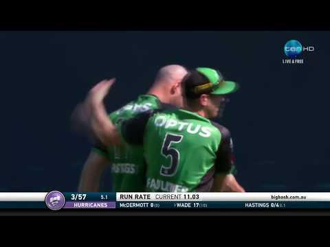 Melbourne Stars v Hobart Hurricanes, BBL|07 Mp3