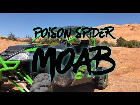 Riding Poison Spider Trail Moab