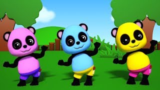 Baby Bao Panda | Ringa Ringa Розы | детские детские рифмы | детские рифмы в россии | Nursery Rhyme