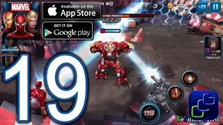 Marvel Future Fight Android iOS Walkthrough - Part 19 - Chapter 4 NORMAL: Stages 1-3 Daily 1-2