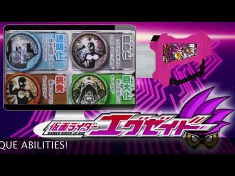 Kamen Rider EX-AID News (Lazer Racer and Level 3)
