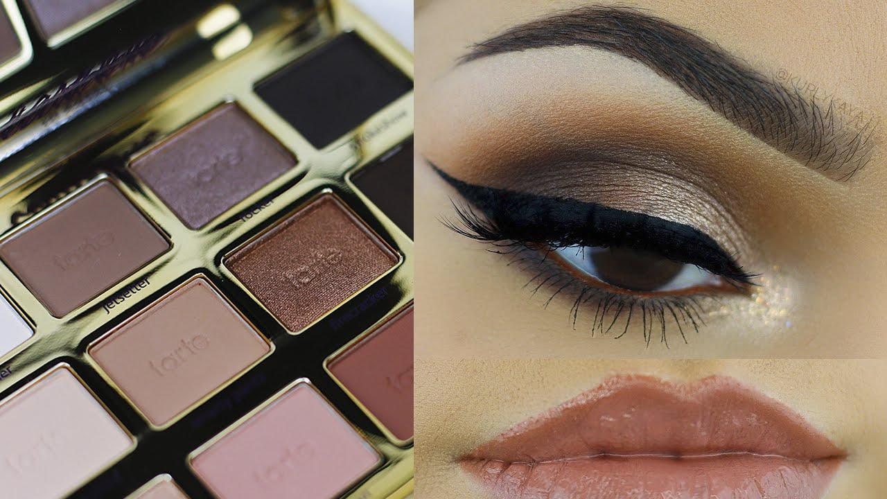 7c9dbecae Tarte in Bloom Makeup Tutorial - KurlyKaya - YouTube