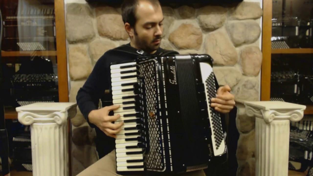 Technical Exercises for Piano Accordion - Lesson 2 - Minor ...