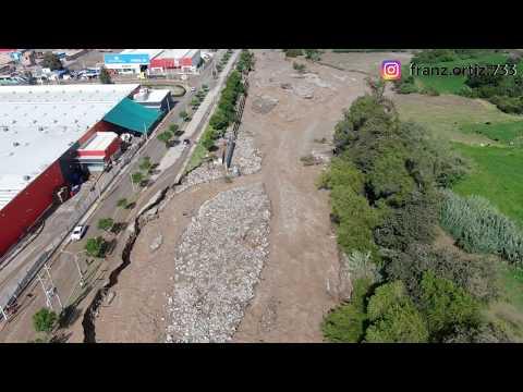 😥UN día DESPUÉS del DESBORDE del Río #moquegua, repaso de daños.
