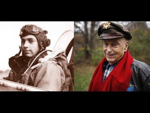 "Bill Overstreet, WWII P-51 Fighter Pilot of ""Berlin Express"" of Roanoke, VA 072713"