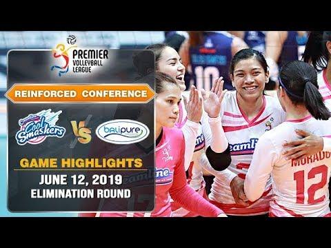 Creamline vs. BaliPure - June 12, 2019   Game Highlights   PVL RC 2019