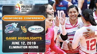 Creamline vs. BaliPure - June 12, 2019 | Game Highlights | PVL RC 2019