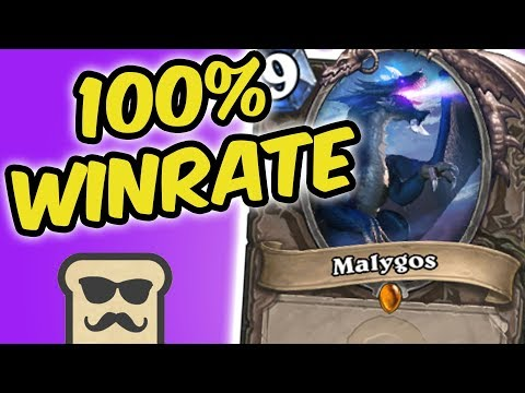 100% WINRATE TOURNAMENT OTK ROGUE DECK | MALYGOS ROGUE | HEARTHSTONE | DISGUISED TOAST