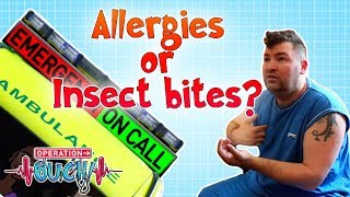 Allergies or Insect Bites?   Operation Ouch   Science for Kids