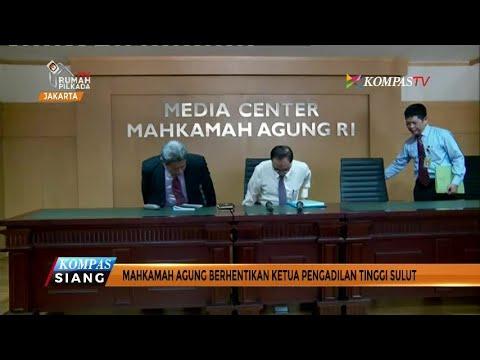 Sudiwardono Diberhentikan Sementara oleh Mahkamah Agung