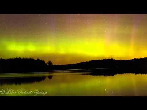 Aurora Borealis Northern Lights 6-23-15 from South Dakota