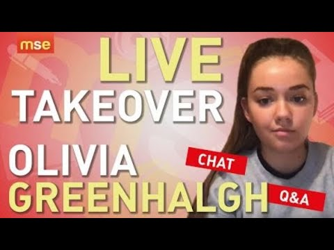 MSE Live 8pm! Olivia Greenhalgh Live Takeover | Q&A Teen Chat 8.10.19