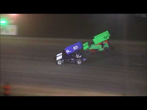 305 Sprint Car Feature from Atomic Speedway, June 9th, 2018.