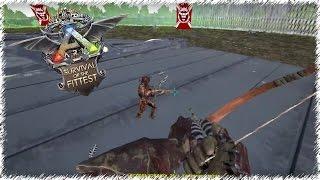 Лук против Дробовика в ARK: Survival of the Fittest.