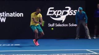 Nadal v Kyrgios Match Highlights - Fast4 Sydney