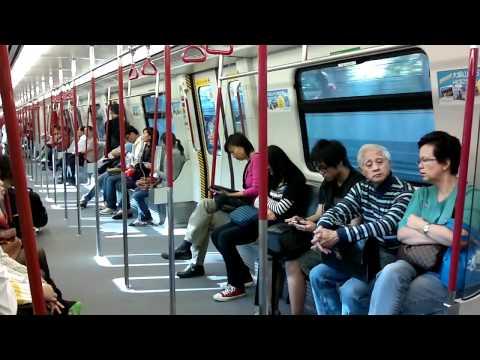 MTR Tung Chung Line Adtranz-CAF Train (Nam Cheong to Lai King)