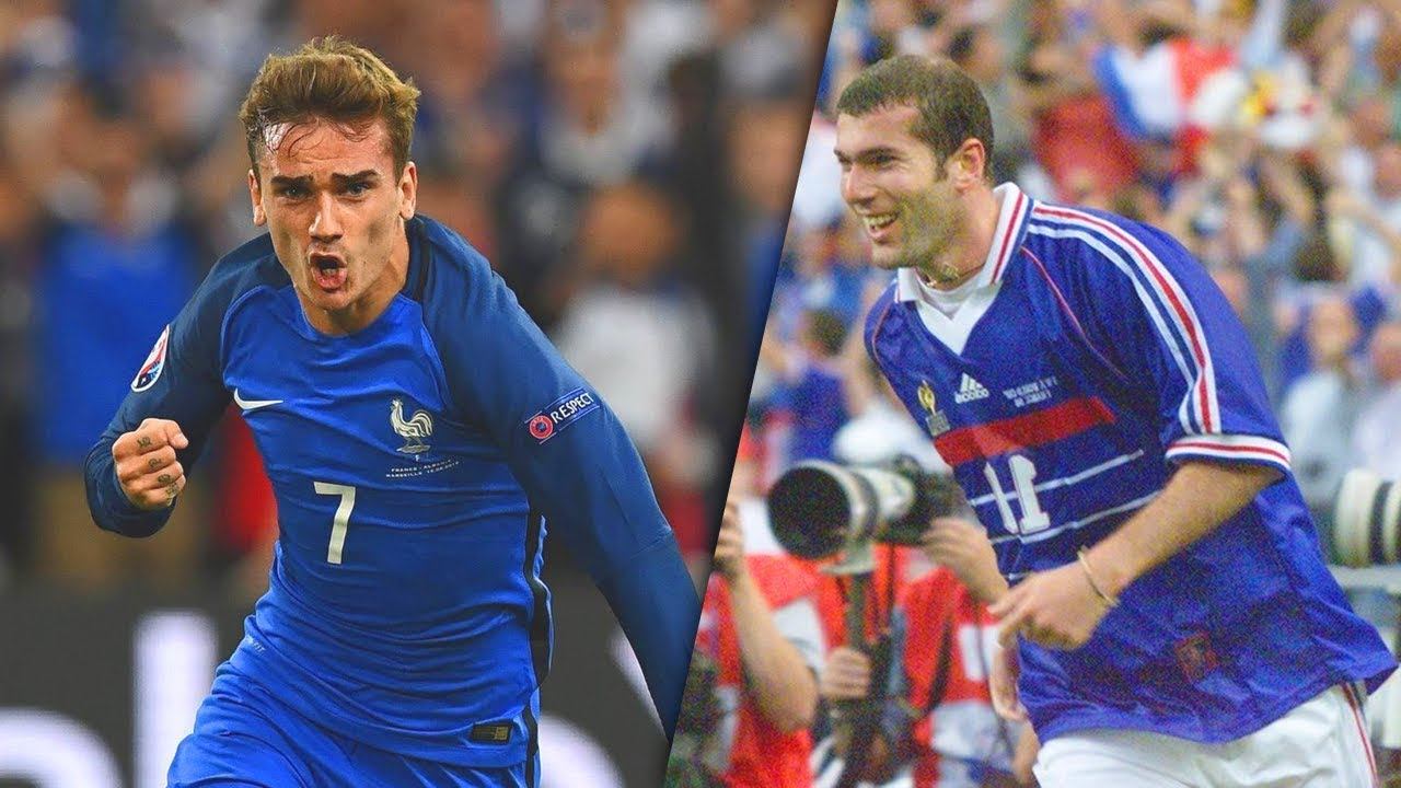 [REUPLOAD] 30 Buts Mémorables de l'Équipe de France !