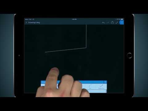 How To Use Drawing Tools In AutoCAD Mobile App