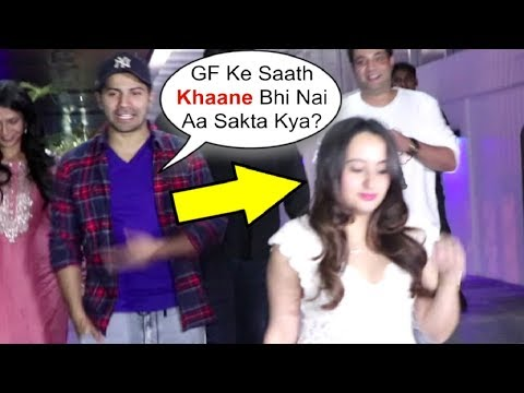 Varun Dhawan Makes FUN Of Media When Teased With GF Natasha Dalal