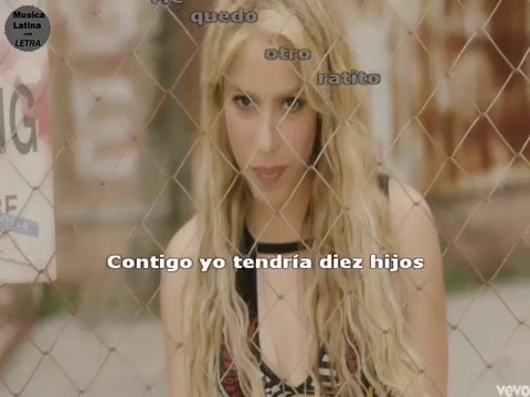 Shakira - Me Enamore (Official Video) LETRA
