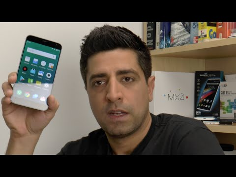 Meizu MX4 hands-on (Greek)