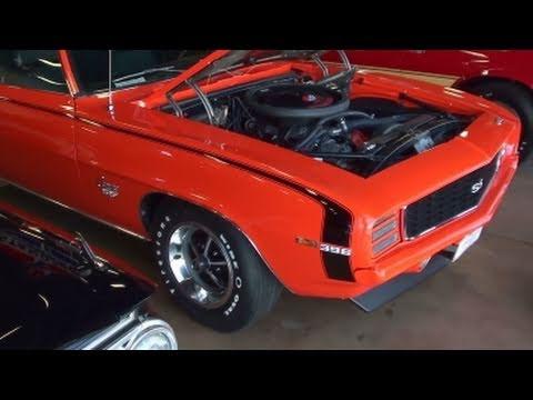 1969 Chevrolet Camaro Ss L 78 396 Big Block 375 Hp Hugger